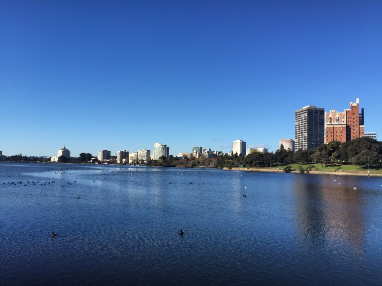 It was also an absolutely GORGEOUS day. Oakland / Lake Merritt