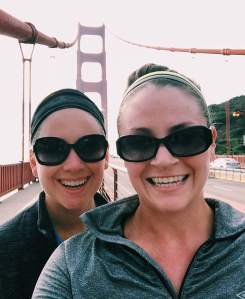 She's the best. And I feel so special to have taken her across the Golden Gate for the first time (on foot)!